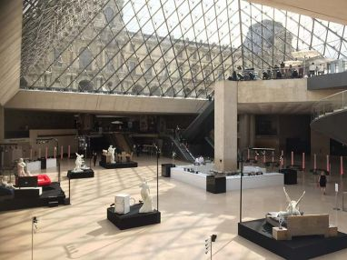 Louvre Museum Private Event
