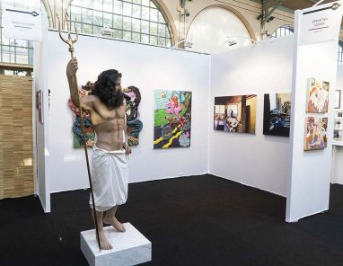 YIA art fair Paris - Sebastien Adrtien Gallery