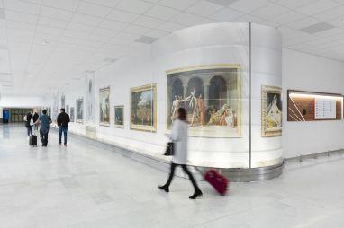 Public Installation - PArisian Airports X Louvre Museum