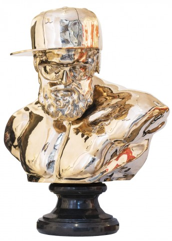 Hipster in Bronze I, 2016
